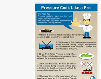 Cooking tutorial in my cartoon style