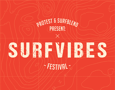 SurfVibes Festival identity