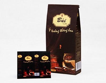 Bag vietnam coffee design