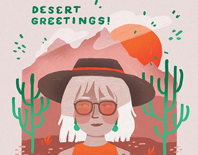 Desert Greetings!