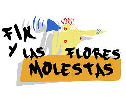 Logo Presentation - Fik Y Las Flores Molestas