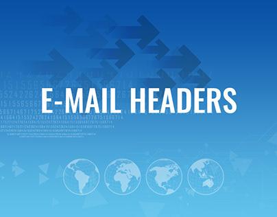 E-mail headers