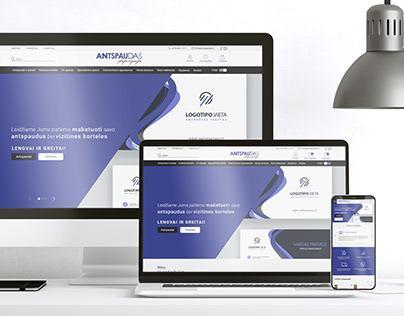 WEB Design   Antspaudas