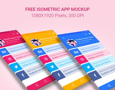 #Freebie: Download Isometric App Mockup for Free!