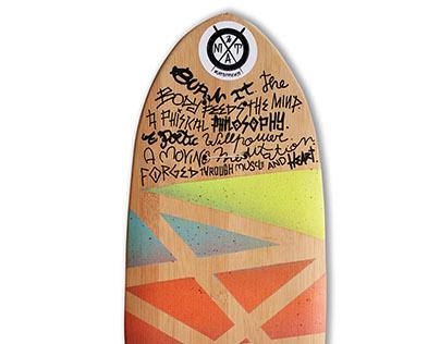Skate Art @matdisseny • Burn it (Mike V Tribute)