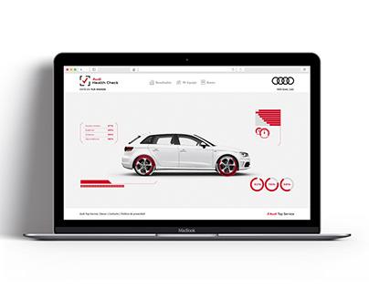Website Audi Health Check