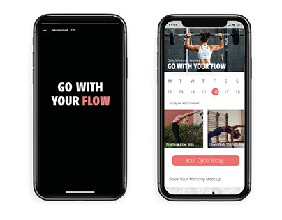 Go With Your Flow - Nike D&AD 2020