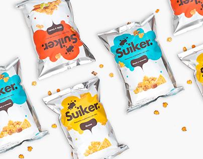 Suiker – Popcorn Packaging