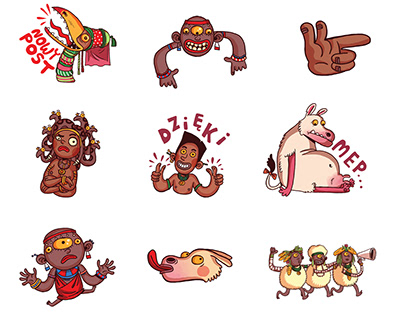 Animated stickers for instagram
