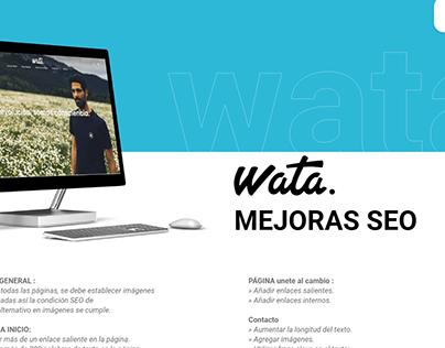Wata - Análisis ux