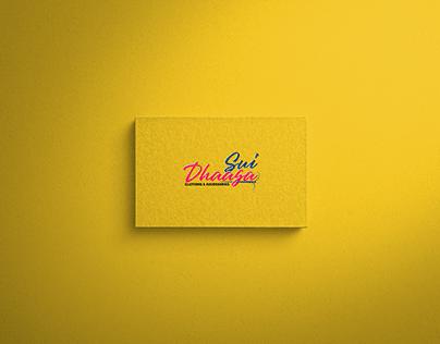 SuiDhaaga | A creative logo design for a clothing brand