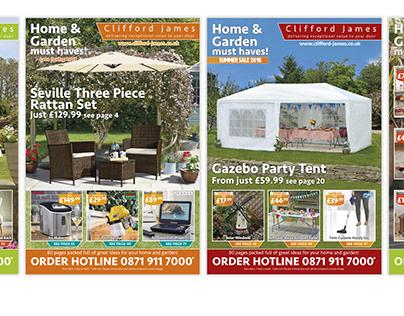 Clifford James Homeware Catalogues