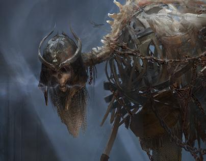 The Forgotten Warrior, Skull Master