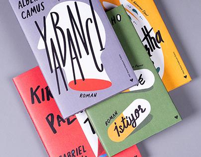 Cover and Book Design. Modern Classics.