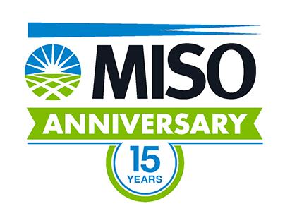 MISO 15-Year Anniversary Logo Options