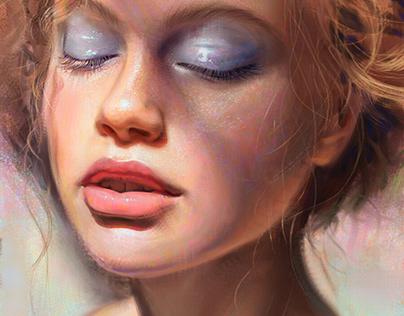 Sunbath - portrait