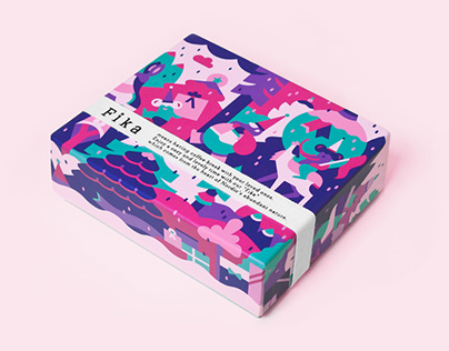 FIKA — Packaging Illustrations for Isetan