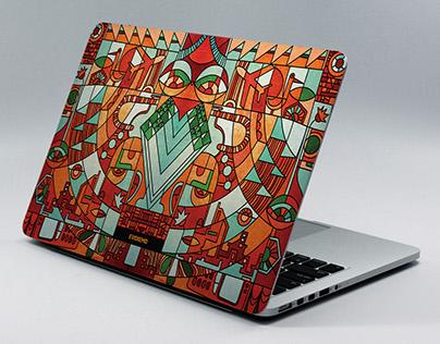 Laptop Skins - II