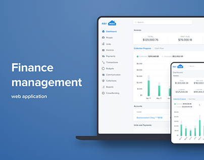 Finance Web Application