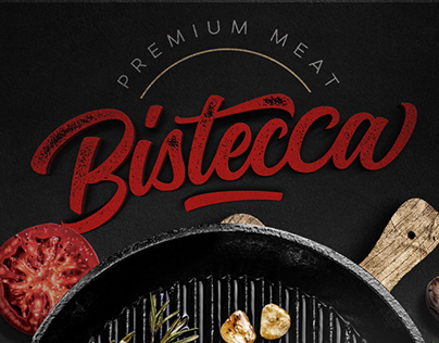 Bistecca Menu Design