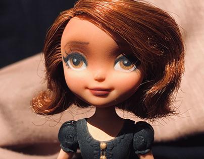 Disney Doll Repaint (Sofia)