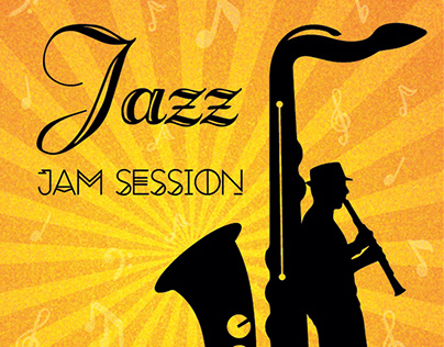 Jazz Jam Session - Carton d'invitation