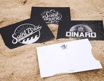 // Postal Cards Breizh Crew //