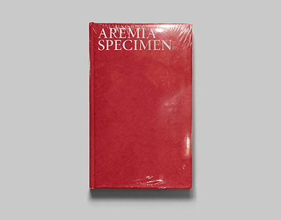 Aremia Specimen - Editorial Design