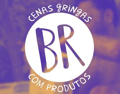 Cenas gringas com produtos BR