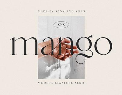 Mango - Modern Serif