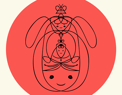 """Ellas Totem"" Series: We Are All Doodles"