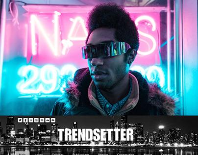 New fashion website   TRENDSETTER