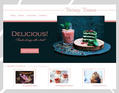 UI/UX Design | Cafe Website design