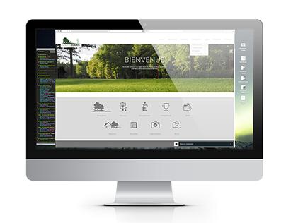 Web Design Golf de Clairis