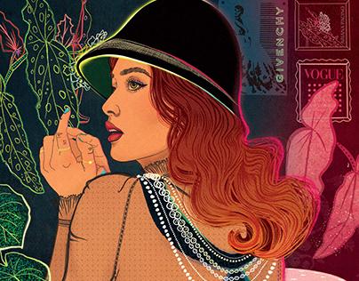 LA Times- Fashion Illustration