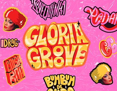 Sticker Drag Brasil | Glória Groove