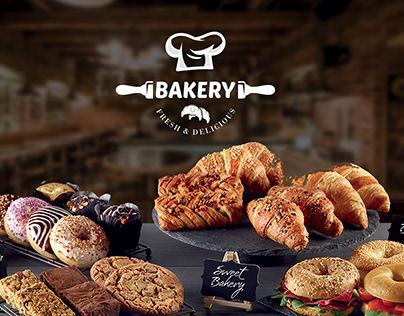 Bakery - Fresh & Delicious- Logo Design.