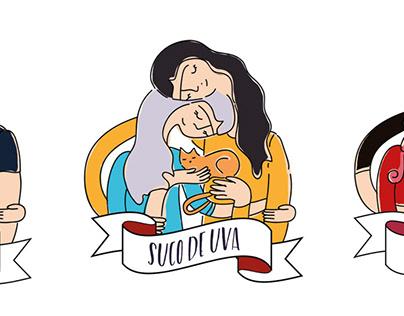 Embalagem para Suco de Uva