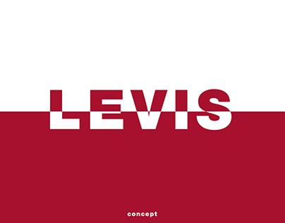 concept website Levi's