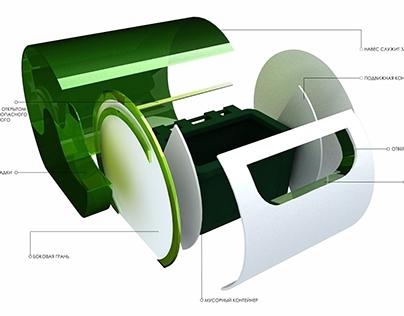 Проект оформления контейнерных площадок