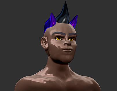 Punk Character Concept