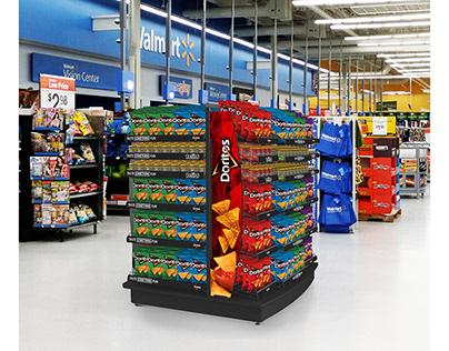 Walmart Category Displays