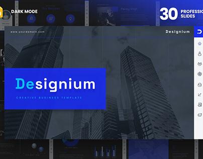 DARK DESIGNIUM - Presentation Template