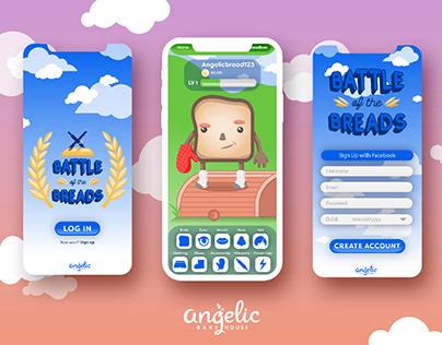 Angelic Bakehouse Battle of the Breads App Design