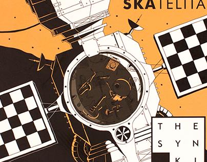 """The Synki """"Skatelita"""" Album Artwork"""