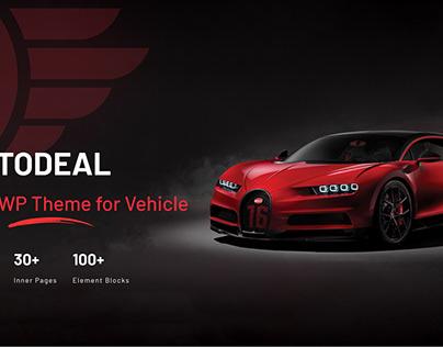 Car & Motor Vehicle Dealership WordPress Theme Design
