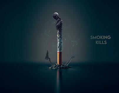 You smoke your life.
