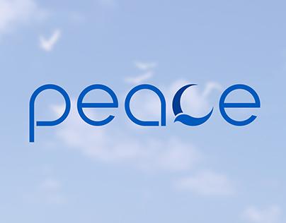 Peace Logo / Typography