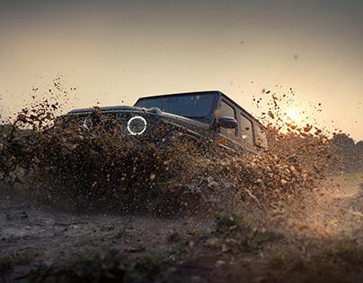 Mercedes-Benz G Class Shot for Overdrive Magazine