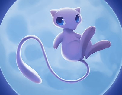 Melody of Mew [Digital Painting]